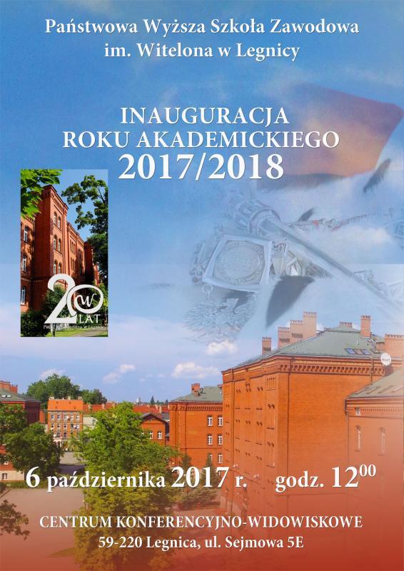 Inauguracja roku akademickiego 2017/2018 wPWSZ
