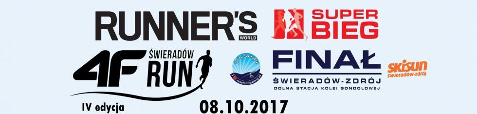 Alpejski finisz RWSB 2017. IV 4F Świeradów RUN już 8 października!