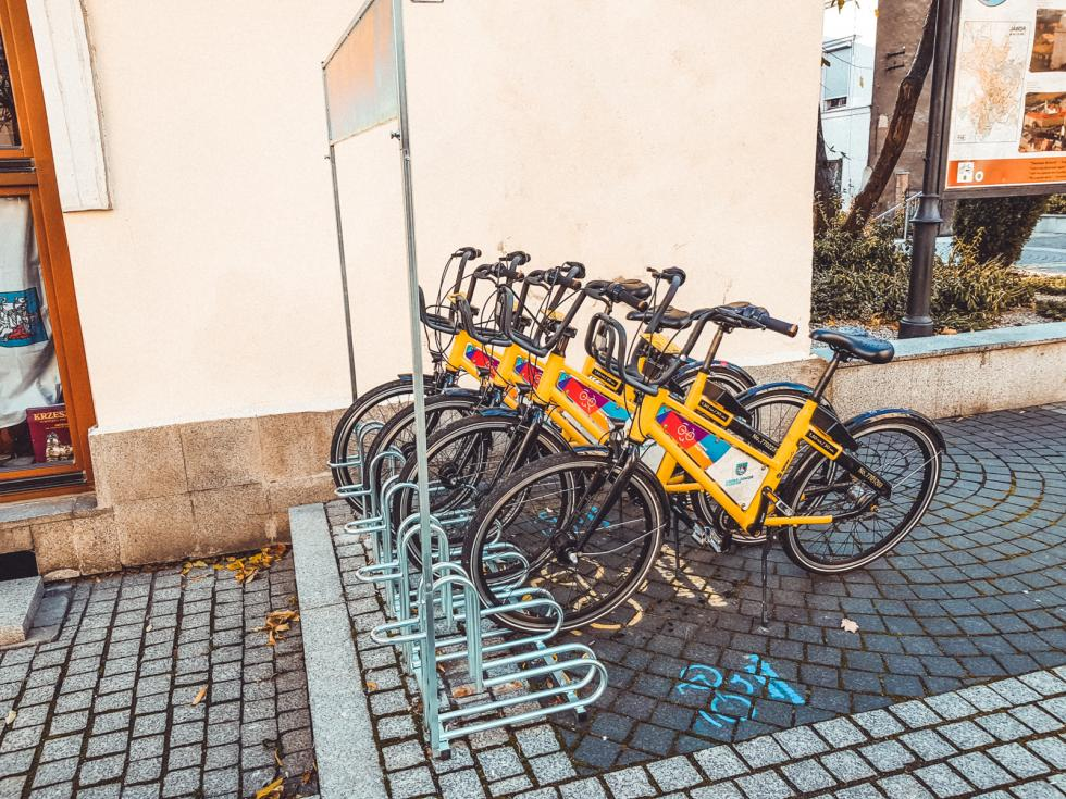 Rower miejski wJaworze kończy sezon 2019