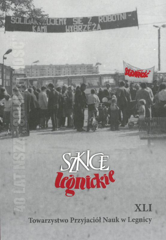 Jest już 41 tom Szkiców Legnickich. Zobacz gdzie są promocyjne egzemplarze